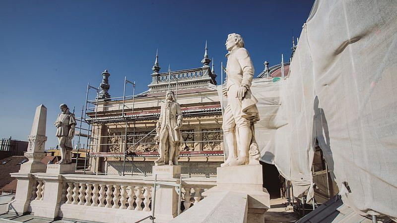 Így halad az Operaház felújítása - FOTÓK!